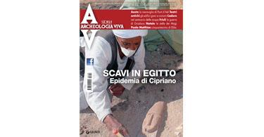 copertina rivista archeologia viva 168