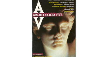 copertina rivista archeologia viva 2