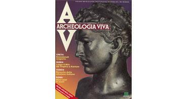 copertina rivista archeologia viva 26