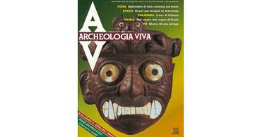 copertina rivista archeologia viva 27