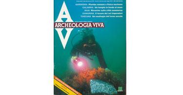 copertina rivista archeologia viva 29