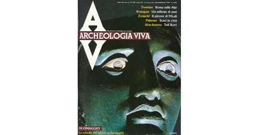 copertina rivista archeologia viva 3