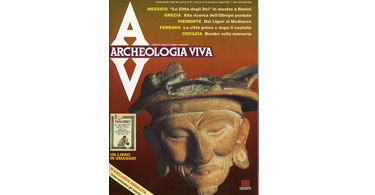 copertina rivista archeologia viva 30