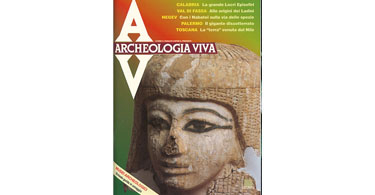 copertina rivista archeologia viva 31