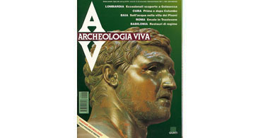 copertina rivista archeologia viva 32