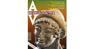 copertina rivista archeologia viva 33