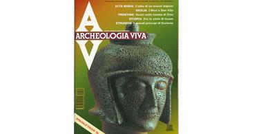 copertina rivista archeologia viva 34