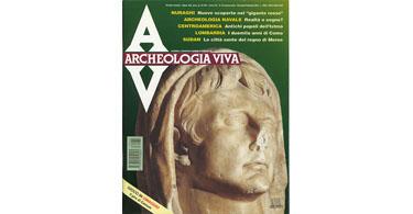 copertina rivista archeologia viva 35