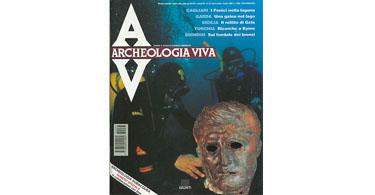 copertina rivista archeologia viva 37