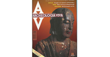 copertina rivista archeologia viva 38