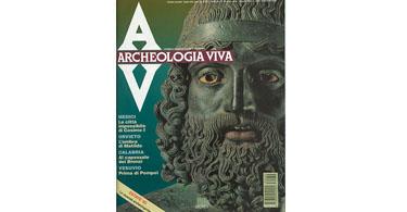 copertina rivista archeologia viva 39