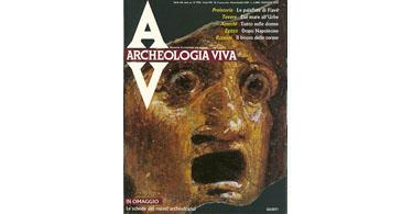 copertina rivista archeologia viva 4