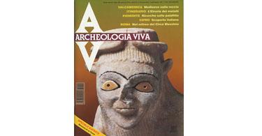 copertina rivista archeologia viva 40