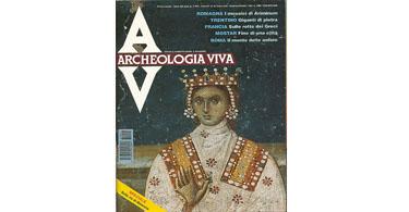 copertina rivista archeologia viva 41
