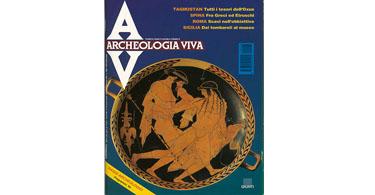 copertina rivista archeologia viva 43