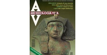 copertina rivista archeologia viva 44