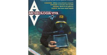 copertina rivista archeologia viva 45