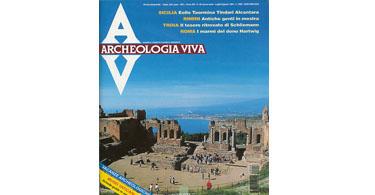copertina rivista archeologia viva 46