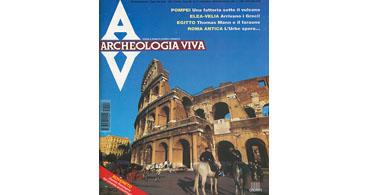 copertina rivista archeologia viva 47