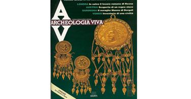 copertina rivista archeologia viva 48
