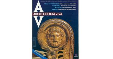 copertina rivista archeologia viva 49