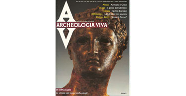 copertina rivista archeologia viva 5