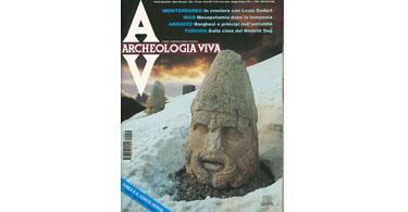 copertina rivista archeologia viva 51