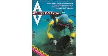 copertina rivista archeologia viva 52