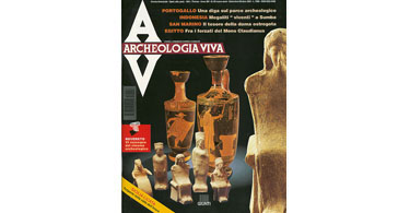 copertina rivista archeologia viva 53