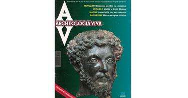 copertina rivista archeologia viva 54
