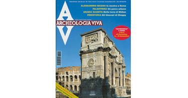 copertina rivista archeologia viva 55