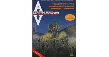 copertina rivista archeologia viva 56
