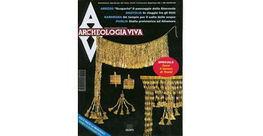 copertina rivista archeologia viva 57