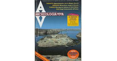 copertina rivista archeologia viva 58