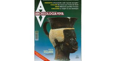 copertina rivista archeologia viva 59