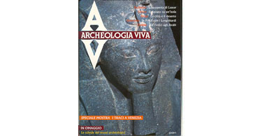 copertina rivista archeologia viva 6