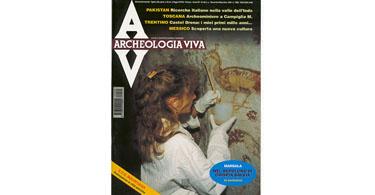 copertina rivista archeologia viva 60