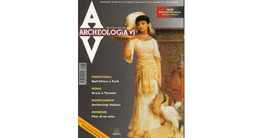 copertina rivista archeologia viva 62