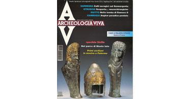 copertina rivista archeologia viva 63