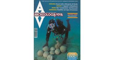 copertina rivista archeologia viva 64