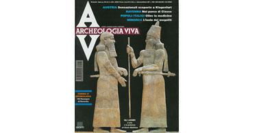 copertina rivista archeologia viva 65