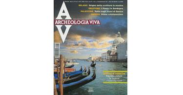 copertina rivista archeologia viva 66