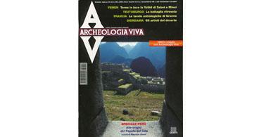 copertina rivista archeologia viva 67