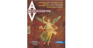 copertina rivista archeologia viva 68
