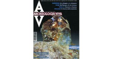 copertina rivista archeologia viva 69
