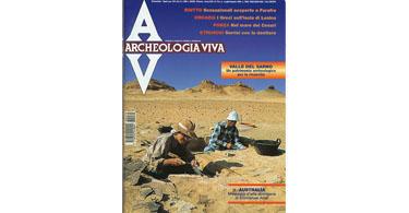 copertina rivista archeologia viva 70