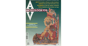 copertina rivista archeologia viva 71