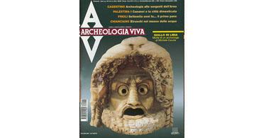 copertina rivista archeologia viva 72