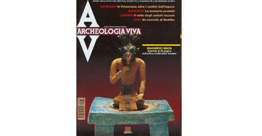 copertina rivista archeologia viva 73
