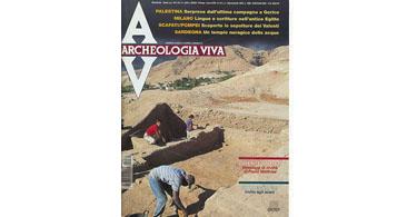 copertina rivista archeologia viva 74